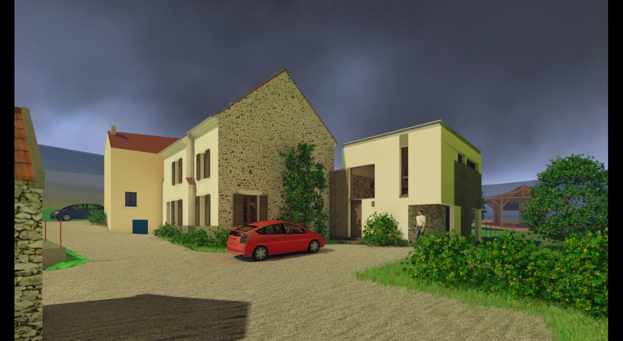 Extension d une maison par un bureau rémi turc architecte dplg