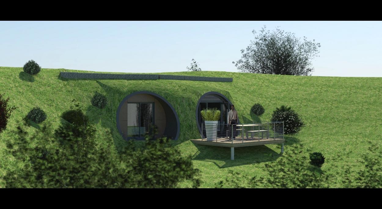 Perspective sur une maison