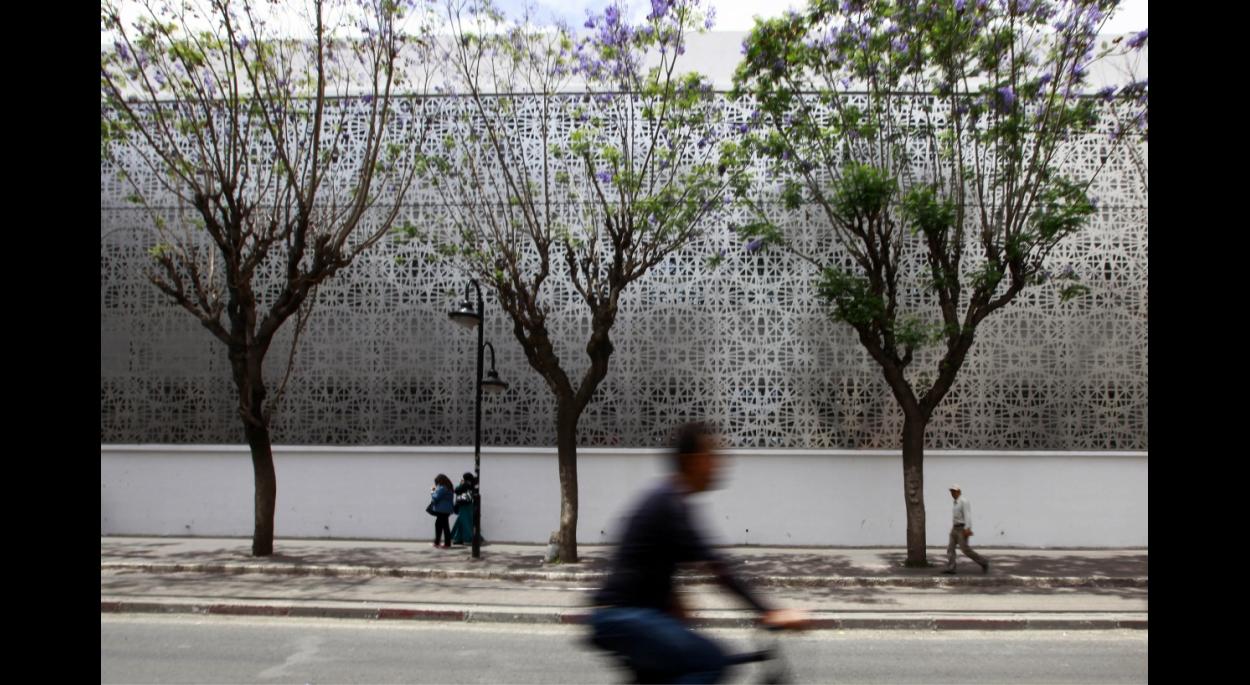 vue de la nouvelle façade