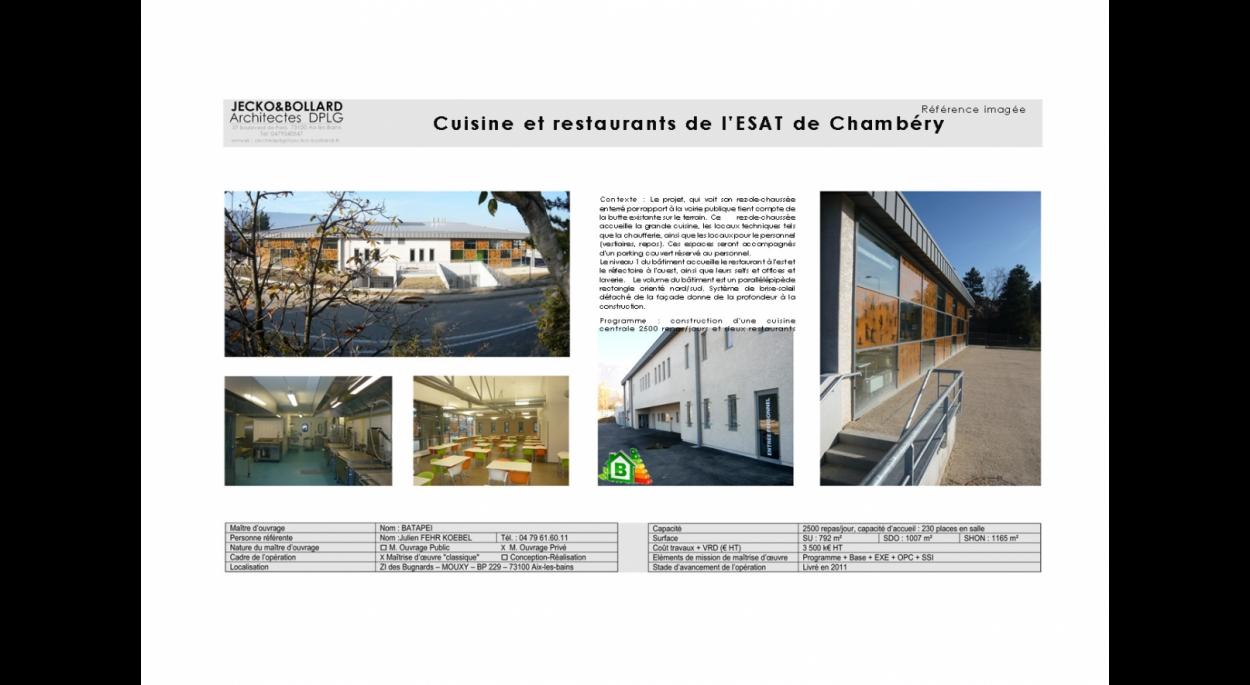 Cuisine Pour Tous Chambéry cuisine centrale chambéry le haut | christophe jecko