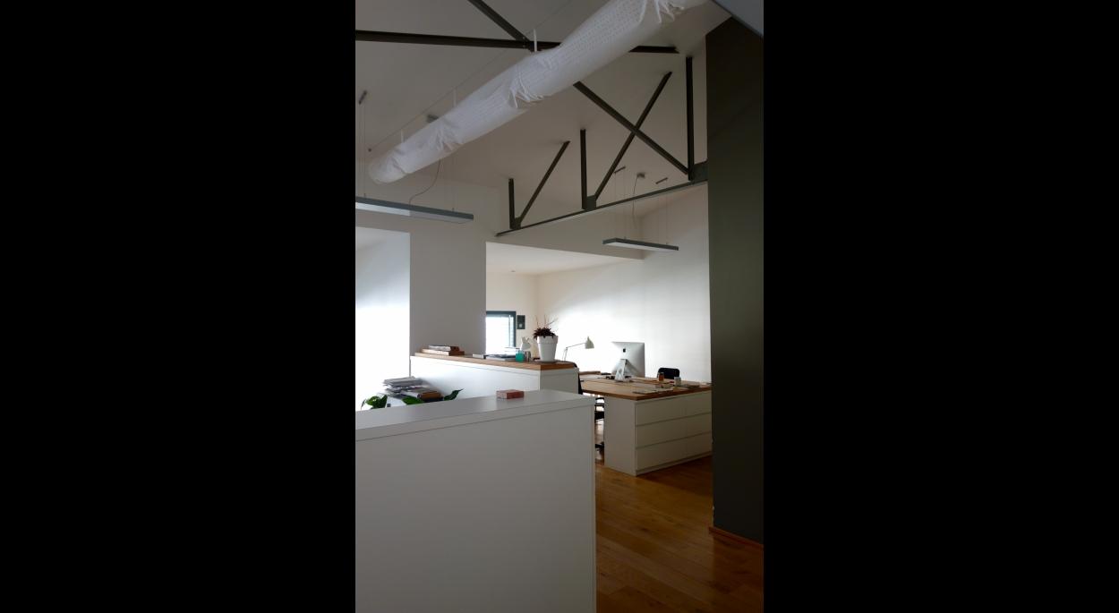 création de 4 espaces de travail