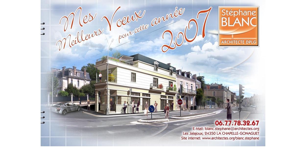 MES MEILLEURS VOEUX POUR CETTE ANNEE 2007.