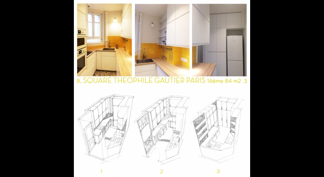 carrelage royal Mosa et meubles Ikea