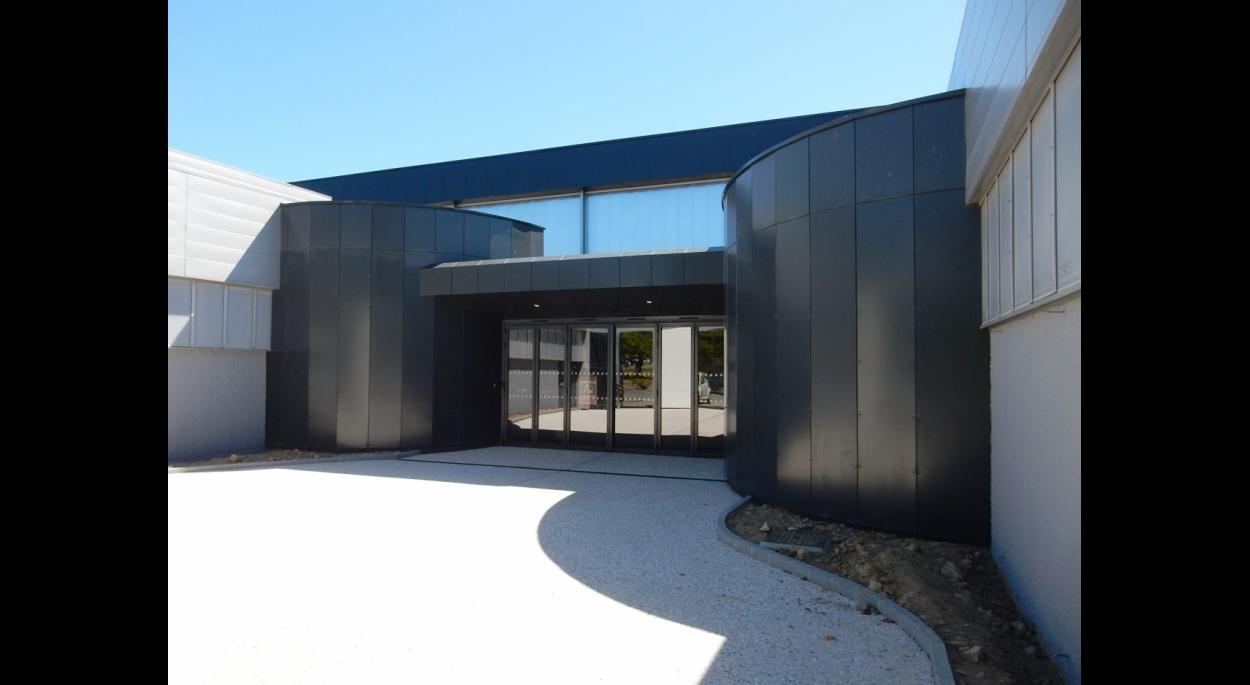 Extension du hall d'entrée