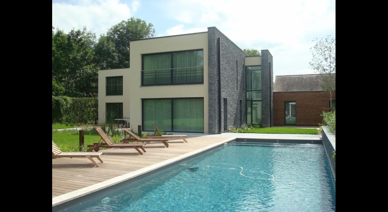 Création villa privée - façade