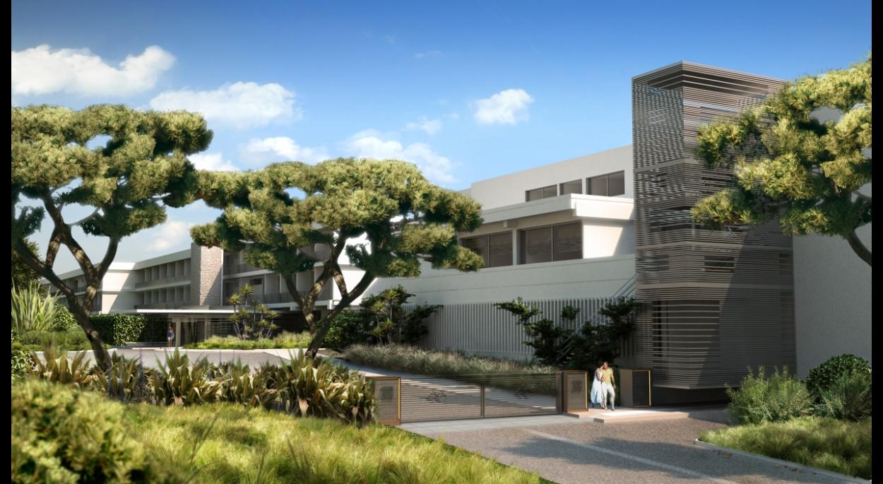 requalification et rénovation hôtel sofitel - Perspective d'insertion