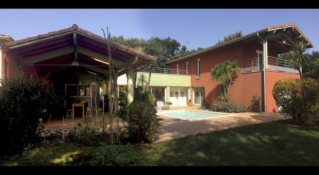 maison Soustons plage - Golf de Pinsolles - Pascal Joppin Architecte DPLG