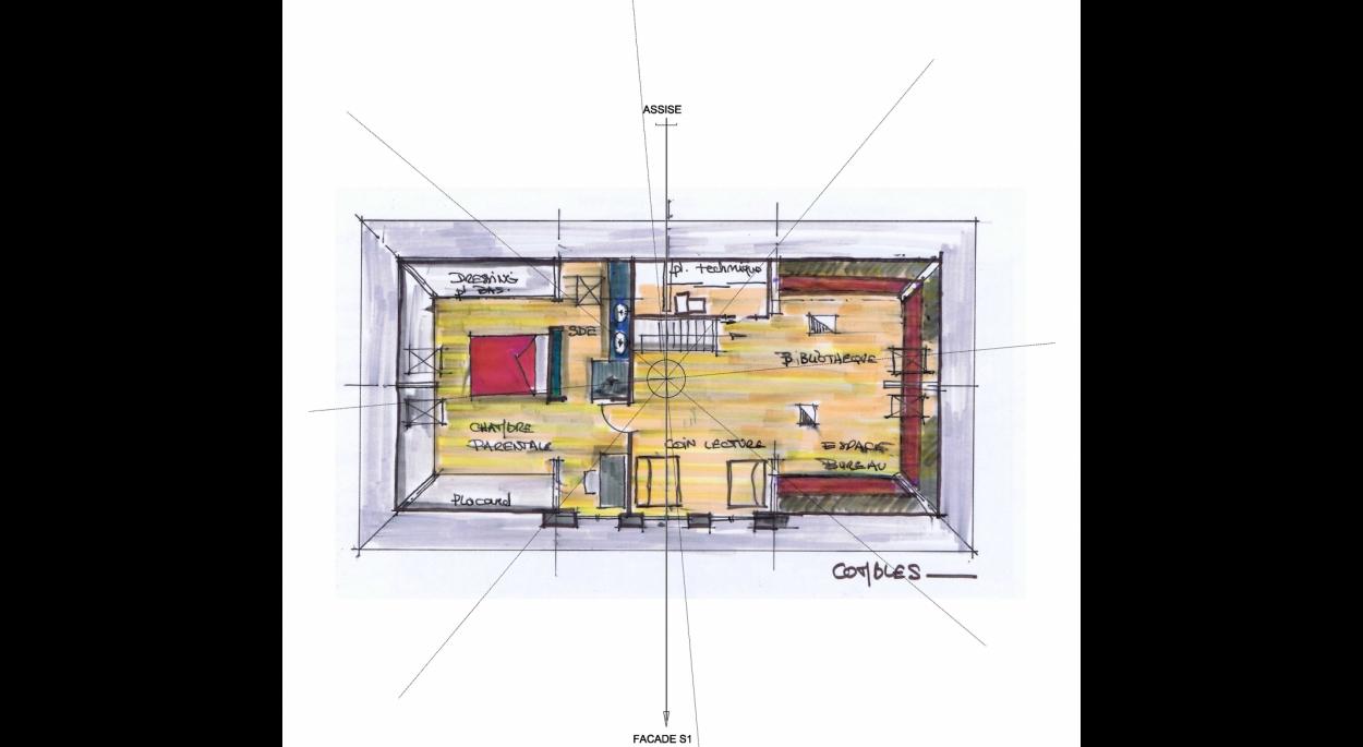 2eme proposition d'aménagement