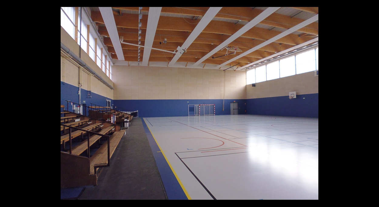 Salle multisports rénovée