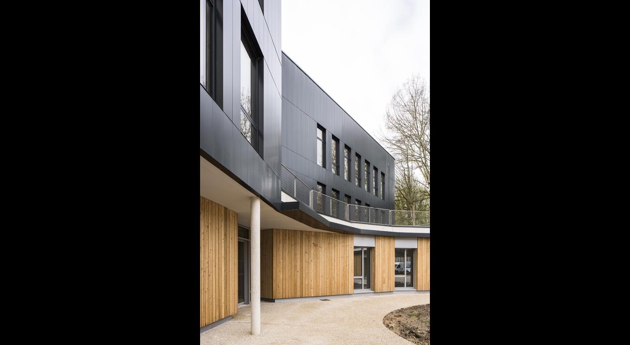 Construction d'un bâtiment de bureaux, Ecouen (95)