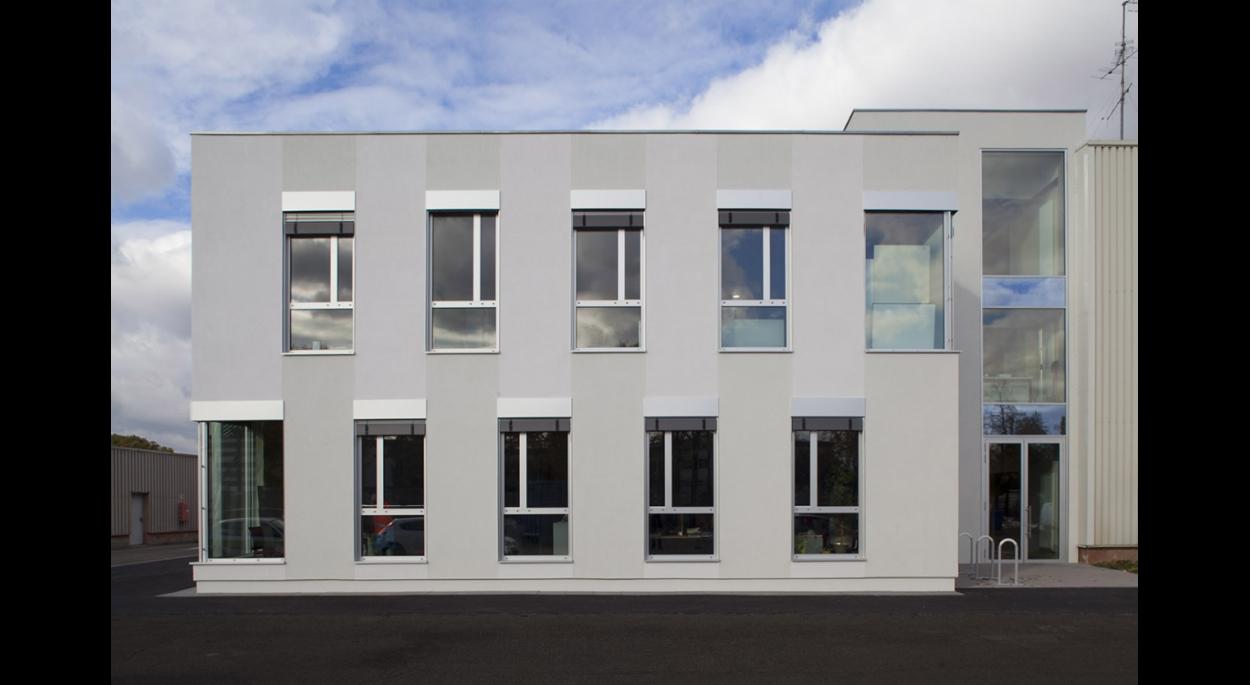 L'extension des bureaux