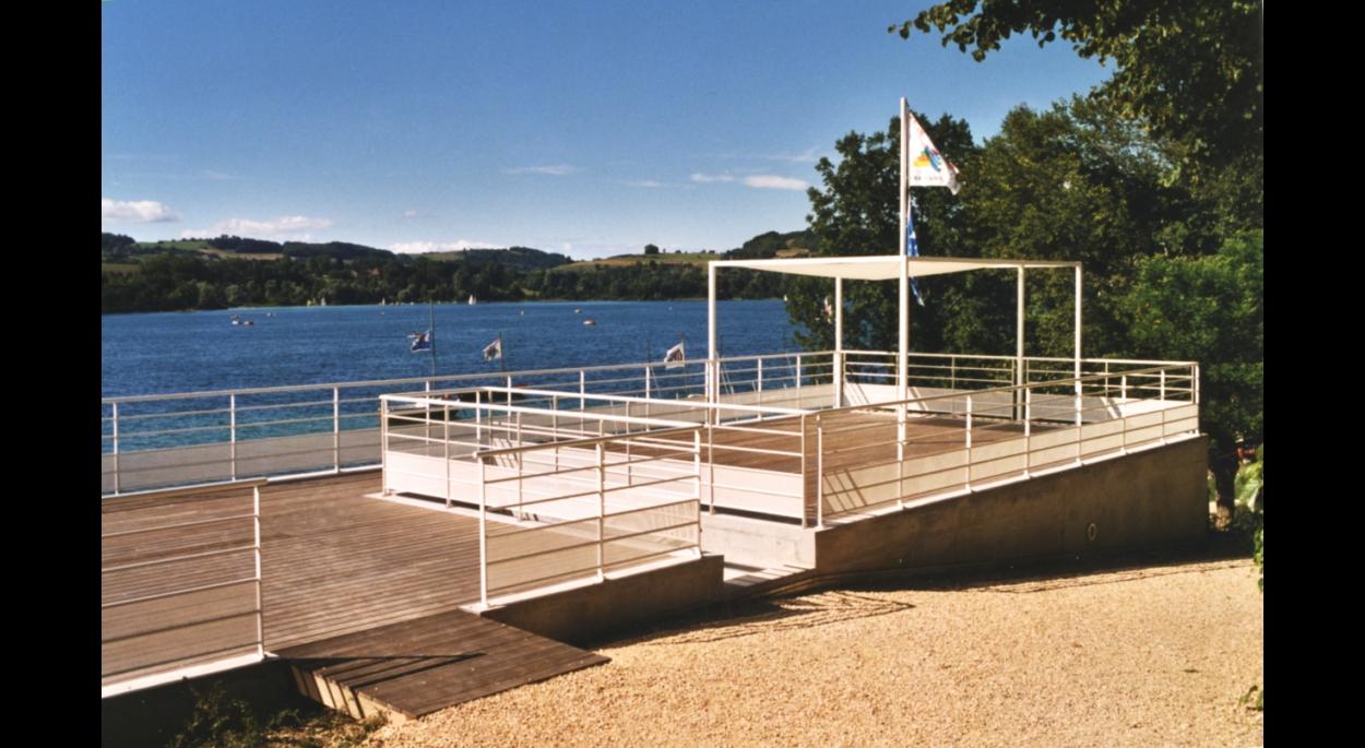 base nautique au lac de paladru christian blachot architecture grenoble is re ordre des. Black Bedroom Furniture Sets. Home Design Ideas