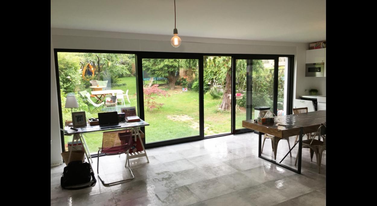 Large ouverture sur jardin