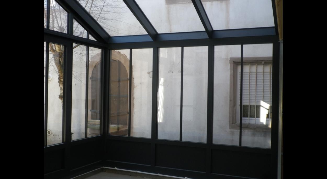 Renovation Et Extension D Une Maison De Ville Avec Jardin D Hiver