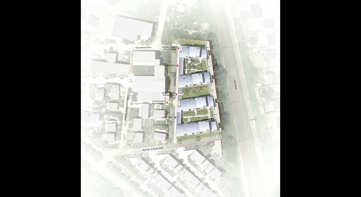 70 logements sociaux, Cesson (77)