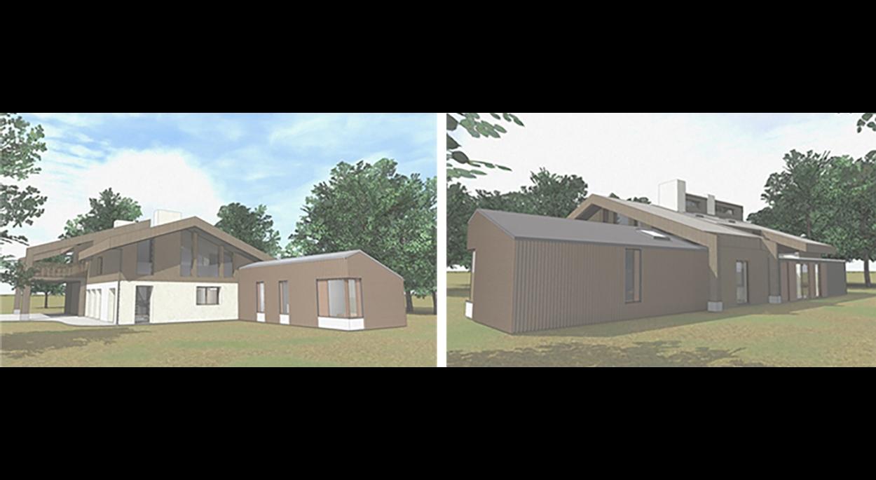 Extension bois maison familiale