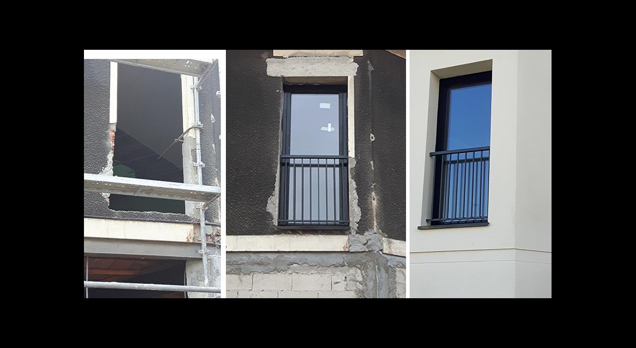 Réhabilitation et extension de deux maisons