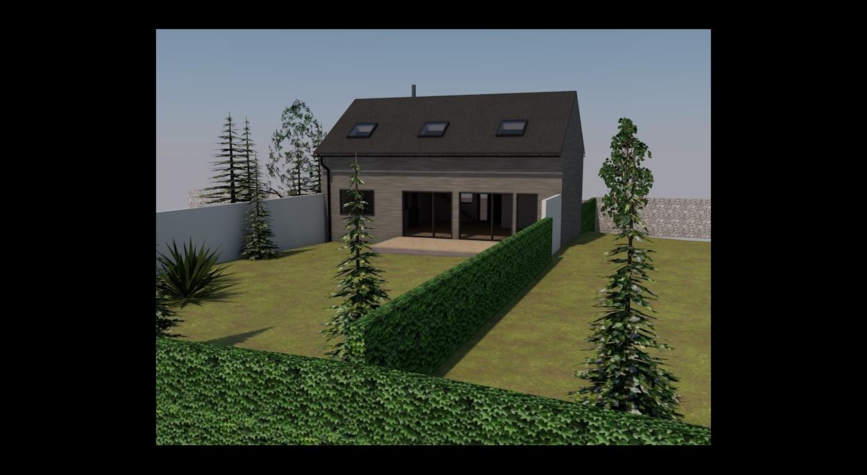 Maison individuelle de 115m2 en bois massif
