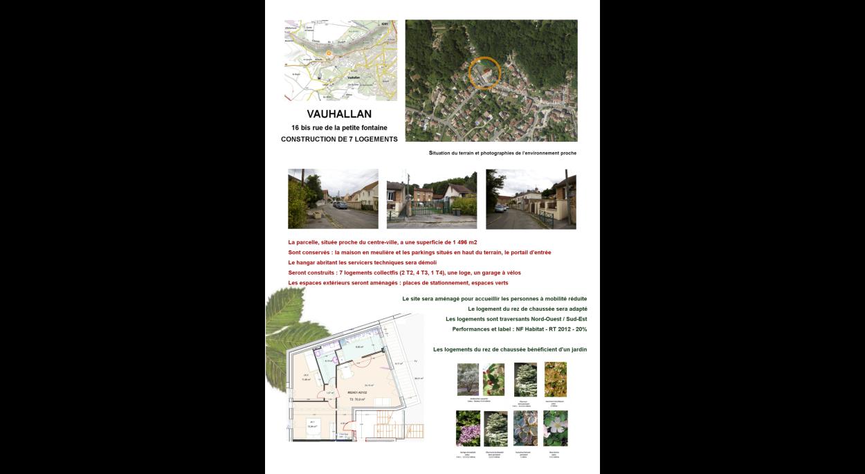 Vauhallan - 7 logements collectifs