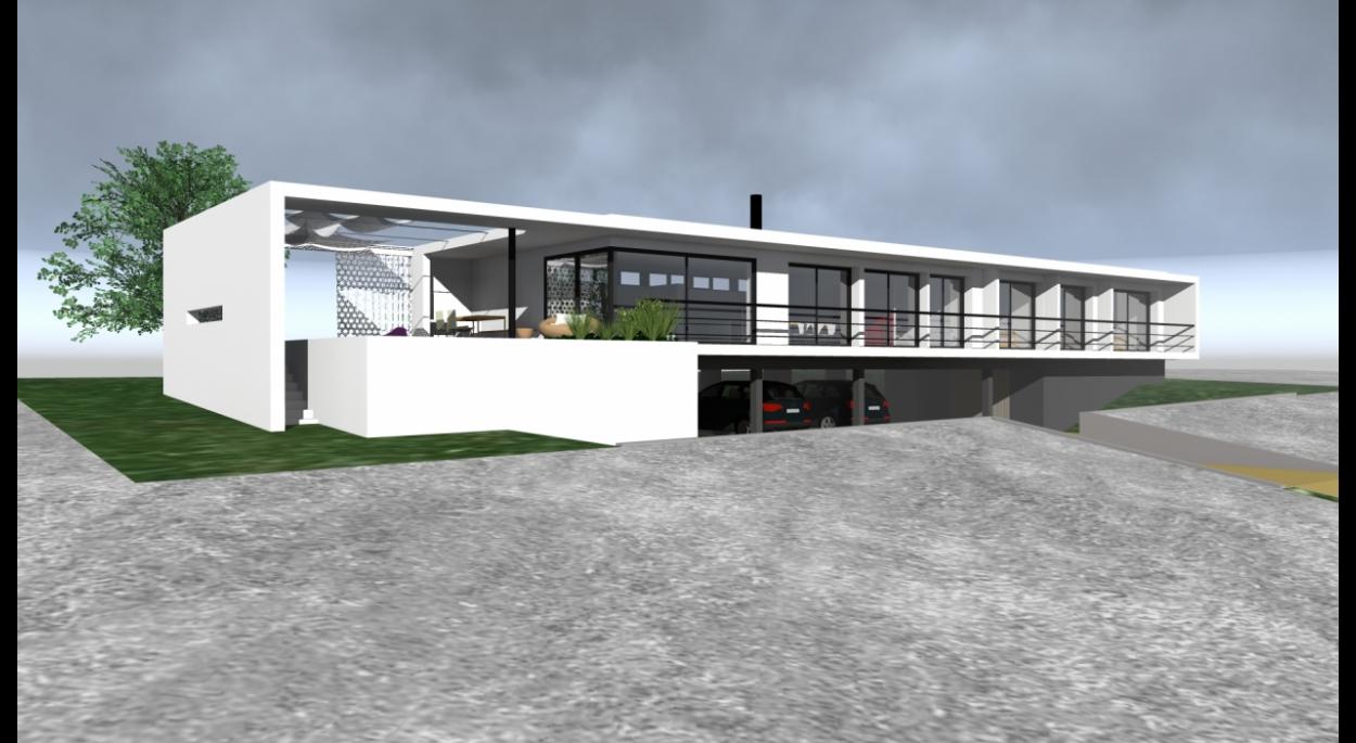construction maison contemporaine toulouse avie home. Black Bedroom Furniture Sets. Home Design Ideas