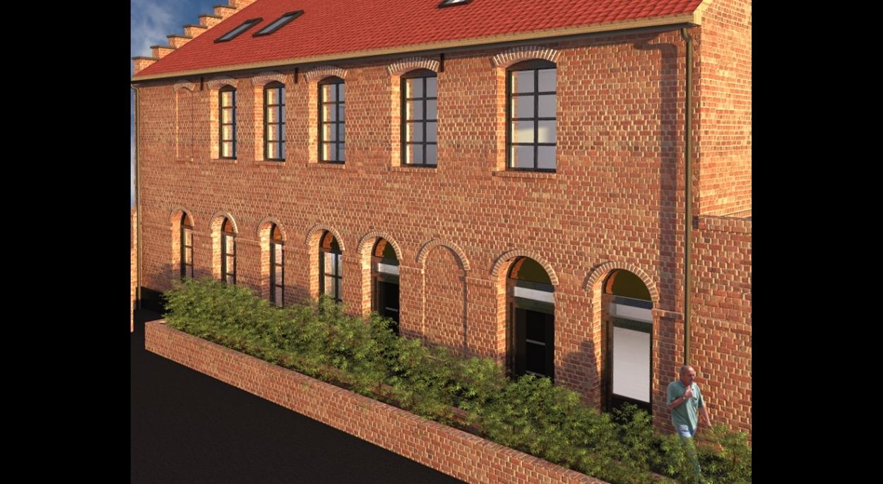 Création de logement collectifs dans une ancienne industrie et mise en accessibilité PMR