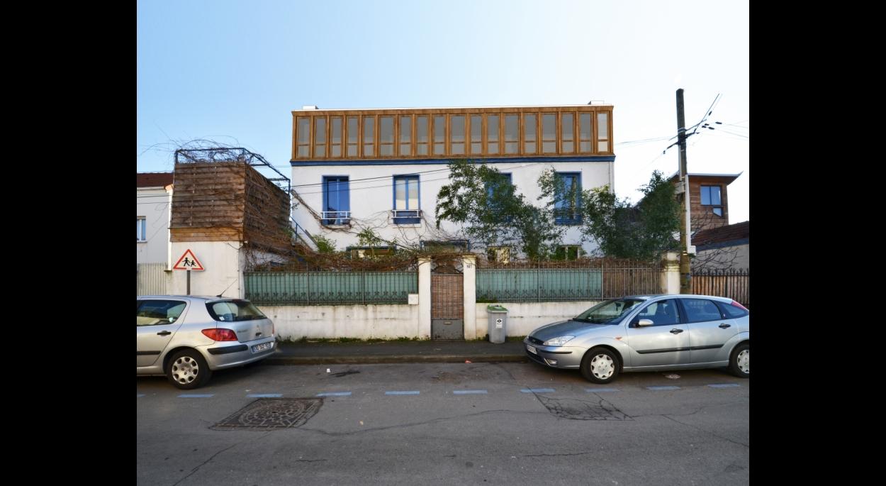 Vue de la façade Nord