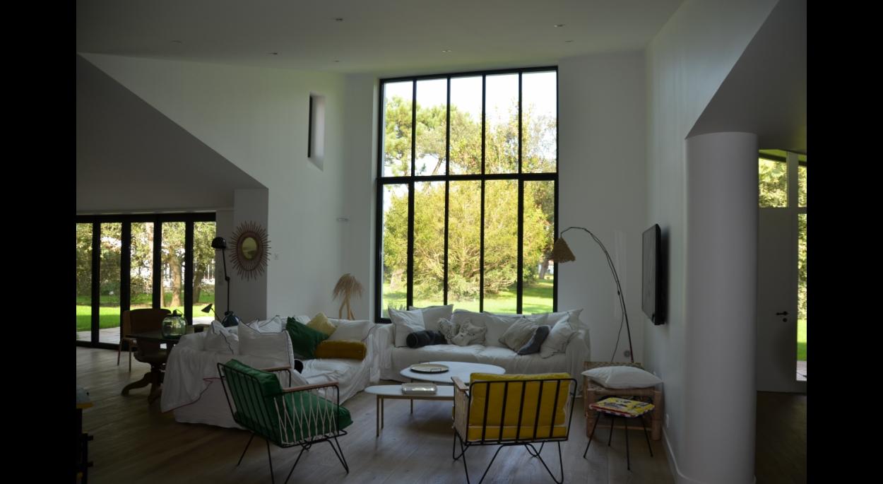 maison individuelle - ile de re | archibal - architecte, pascal
