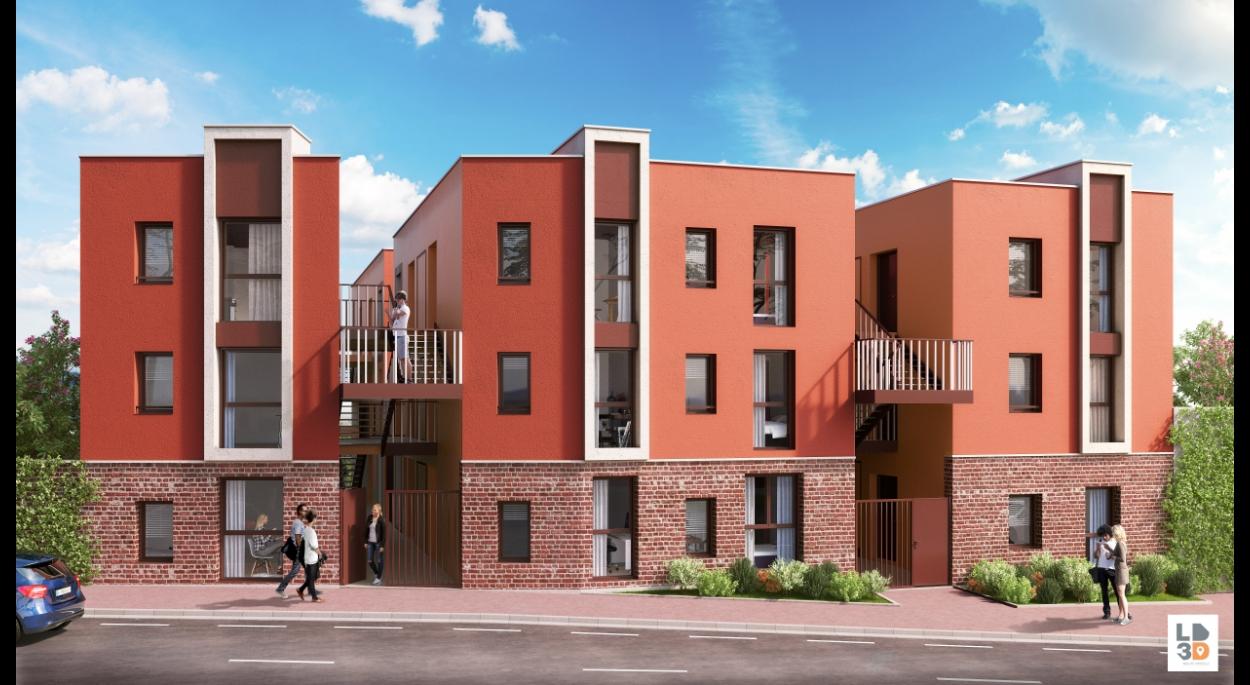 Ordre Des Architectes Amiens habitat - chambres Étudiantes en face de la citadelle a