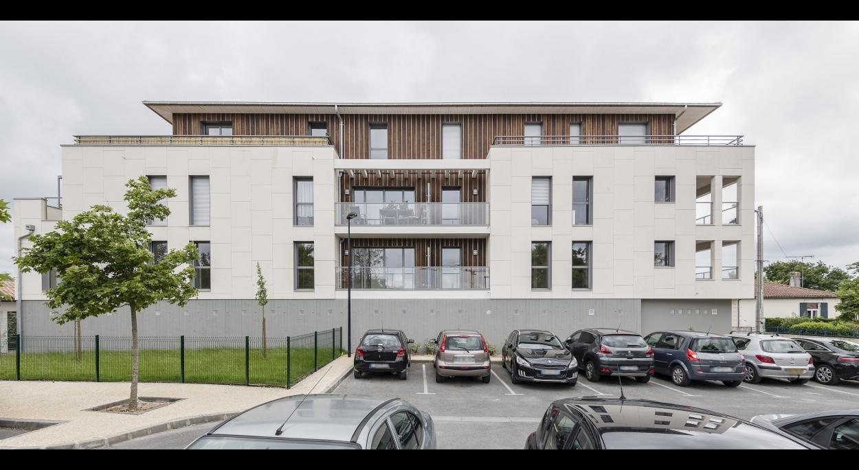 Résidence de 18 appartements  neufs dans le centre ville de La Teste de Buch