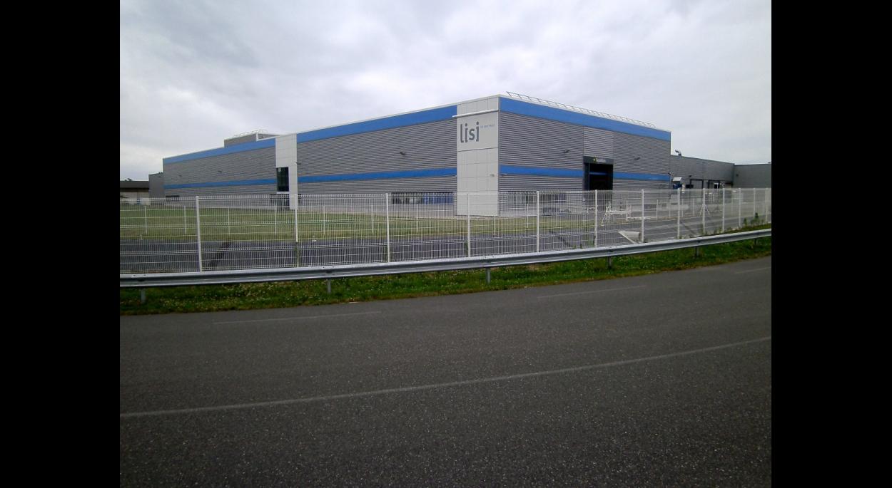 Construction d'un atelier industriel