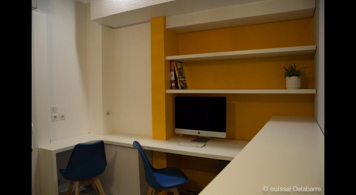 Vue sur l'espace de travail n°2