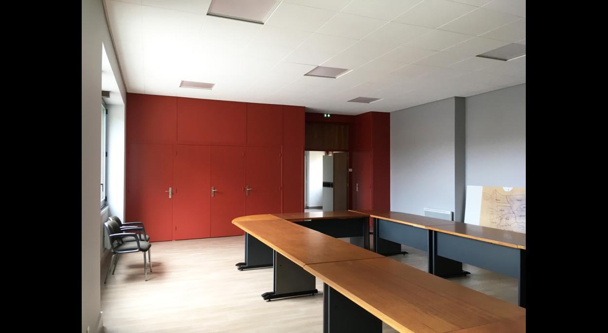 ERP existant - Accessibilité - Sécurité incendie - Mairie - Salle du conseil