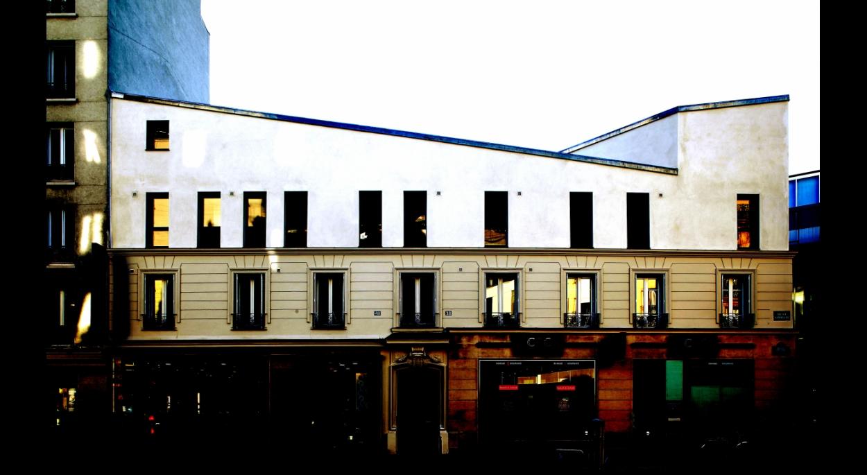 Surélévation d'un bâtiment d'habitation inachevé