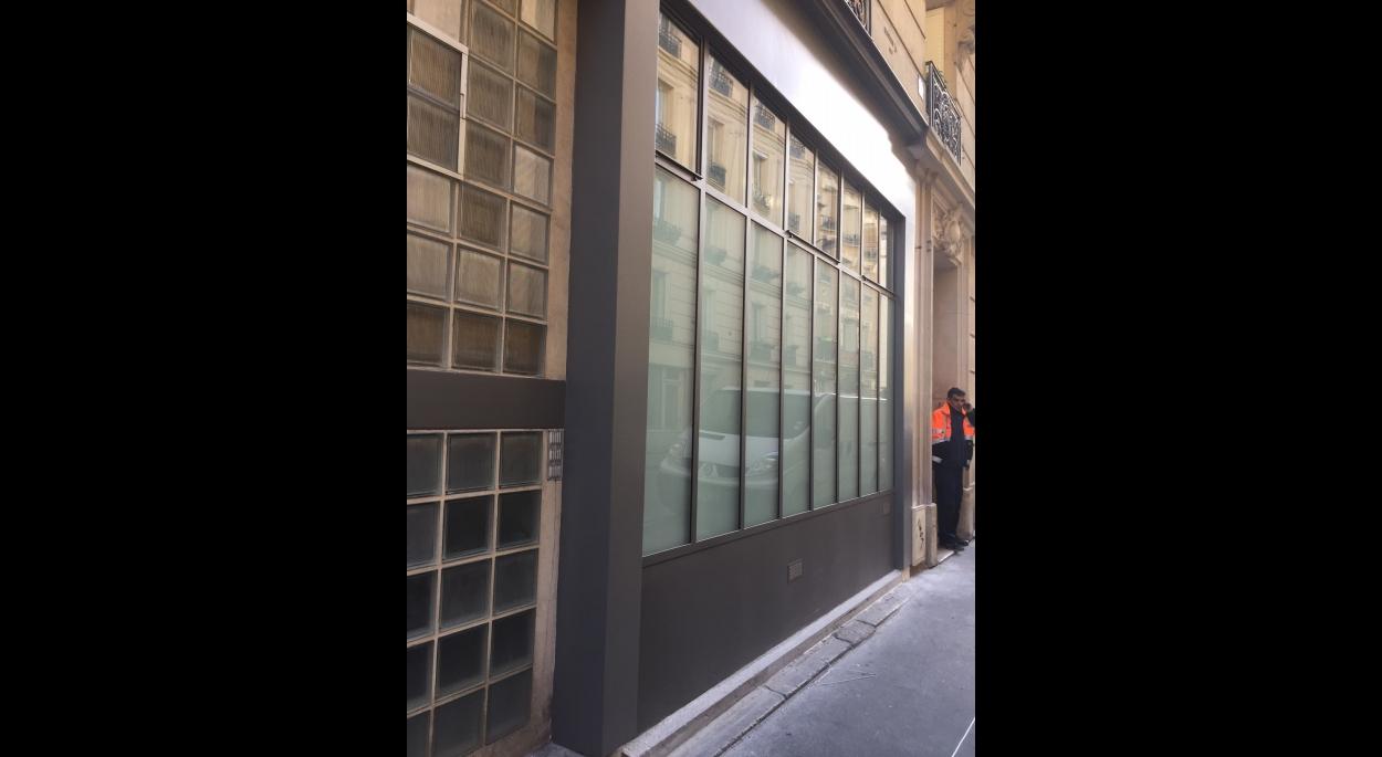 Nouvelle façade , style atelier