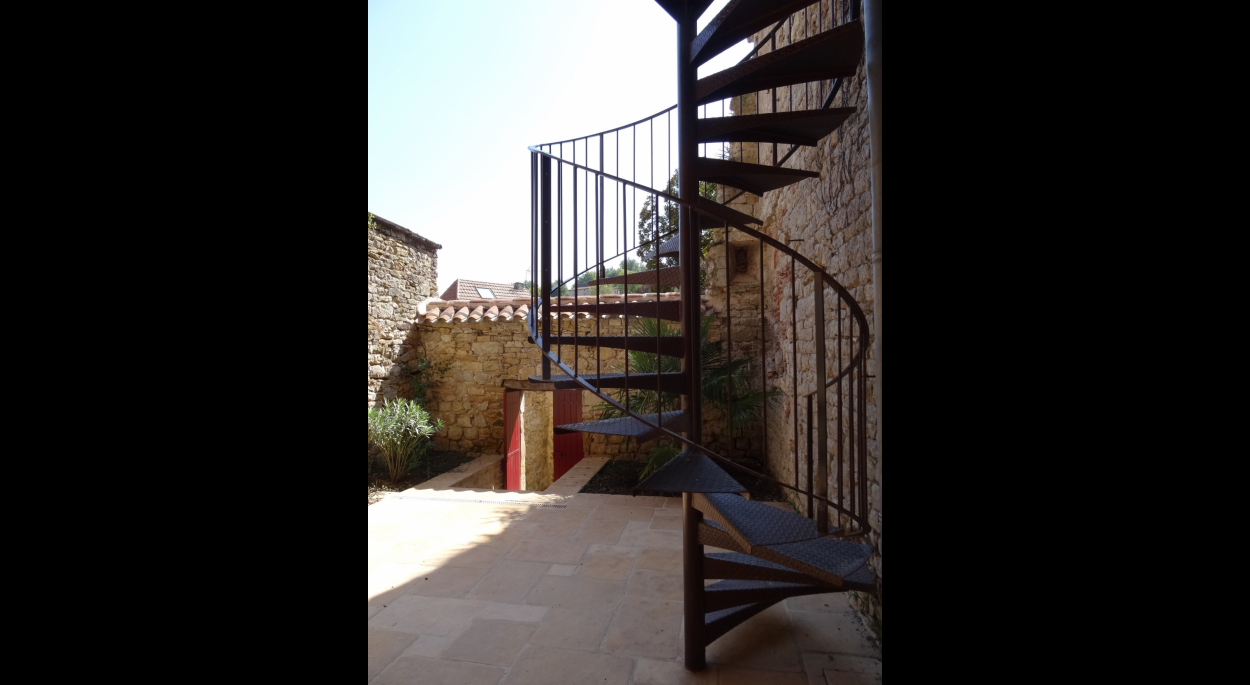 Escalier du jardin