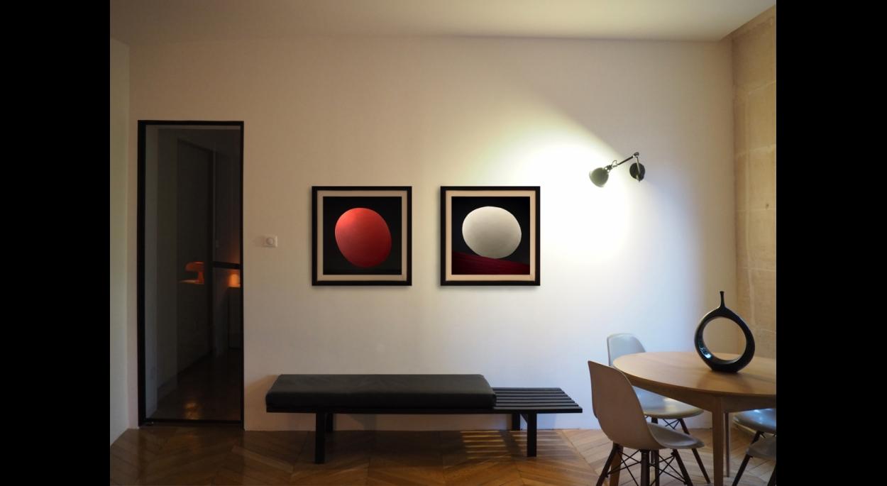 rénovation d\'un appartement haussmannien - 110m² | ALVEARE ...