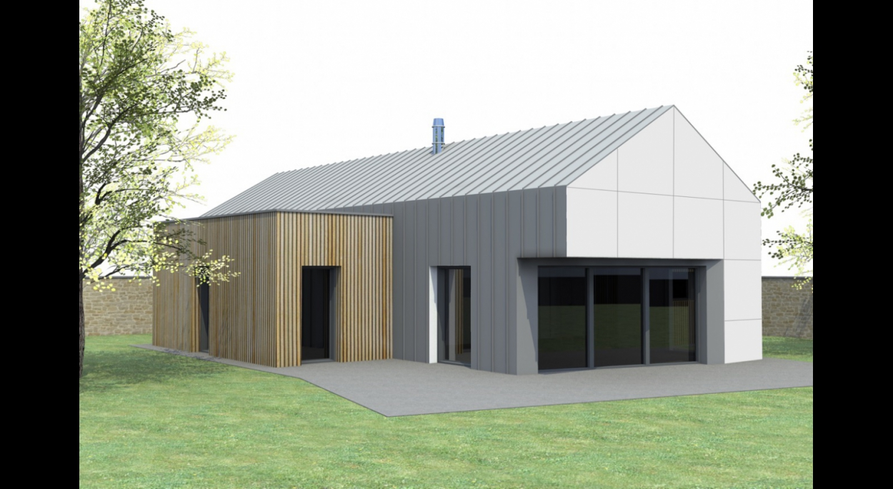 Projets neufs toiture en pente et terrasse   PIARD JEROME   VALOGNES - Manche   Ordre des ...