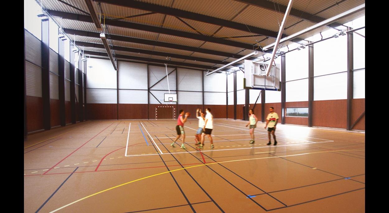 GYMNASE ET CENTRE DE RECHERCHE DE LA FACULTE DES SPORTS - LIEVIN: Gymnase