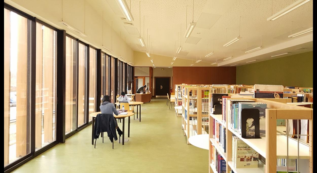 EXTENSION DE LA FACULTE DES SPORTS - LIEVIN: bibliothèque