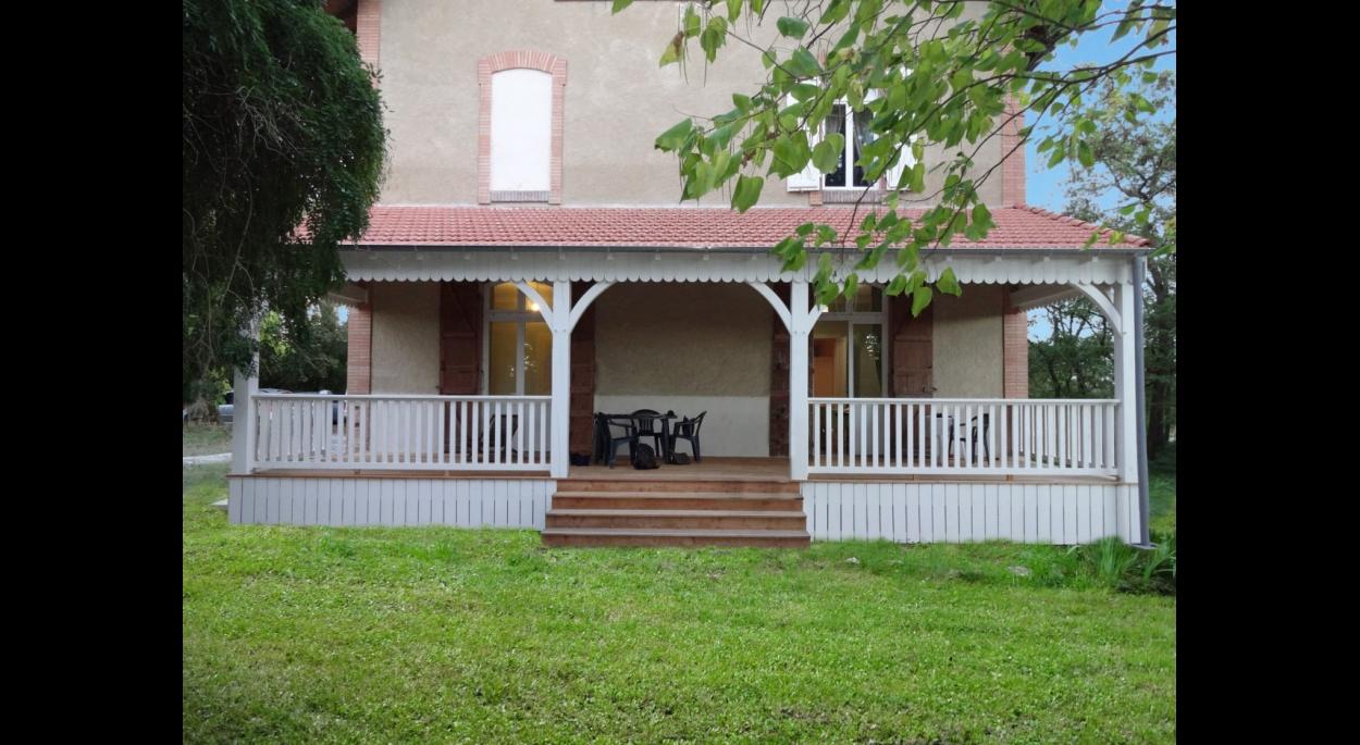 Maison Chara. Création d\'une terrasse couverte | CHARLES ...