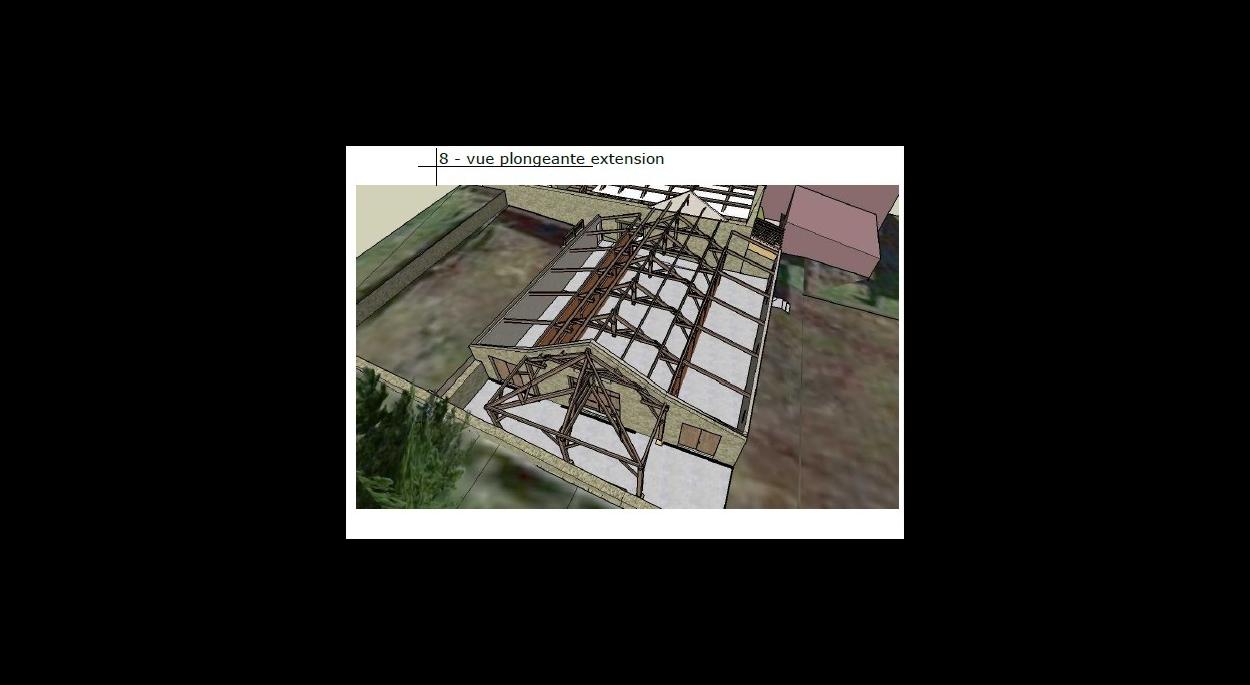 architecte flaujac poujols Lot 46 Quercy extension grange