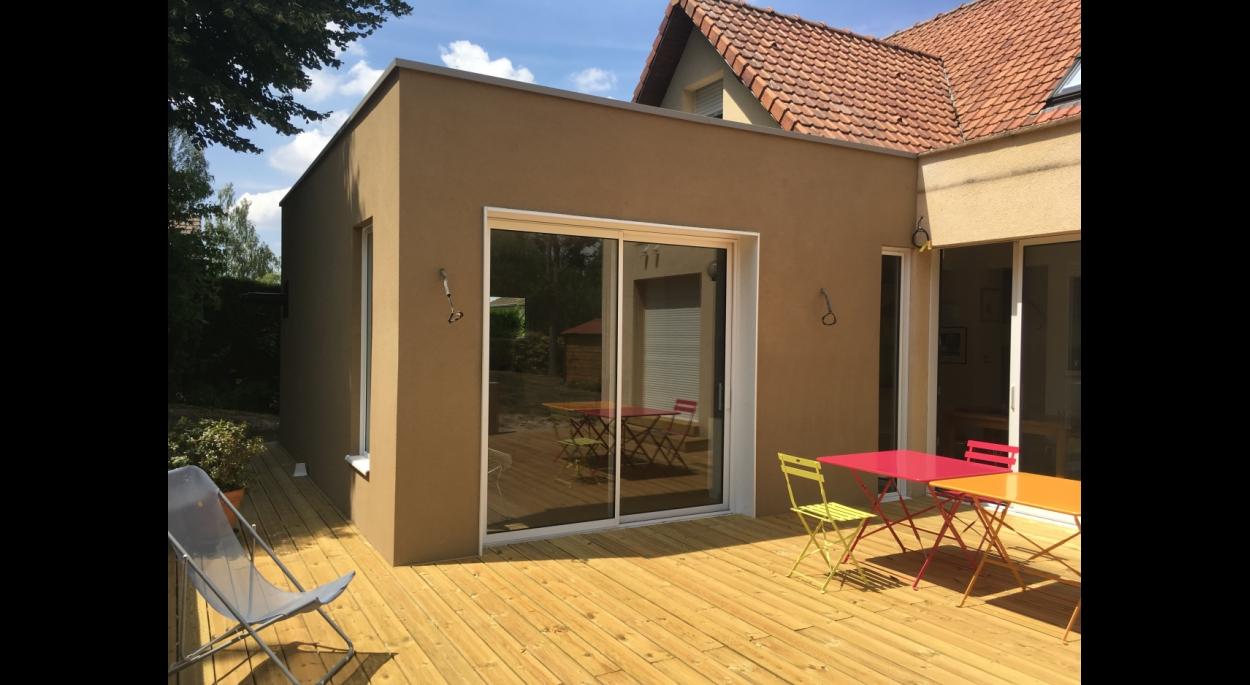 Ordre Des Architectes Amiens extension d'une maison individuelle | gap architecture