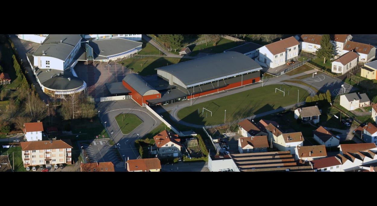 Complexe sportif Le Thillot Benjamin Fedeli Architecte