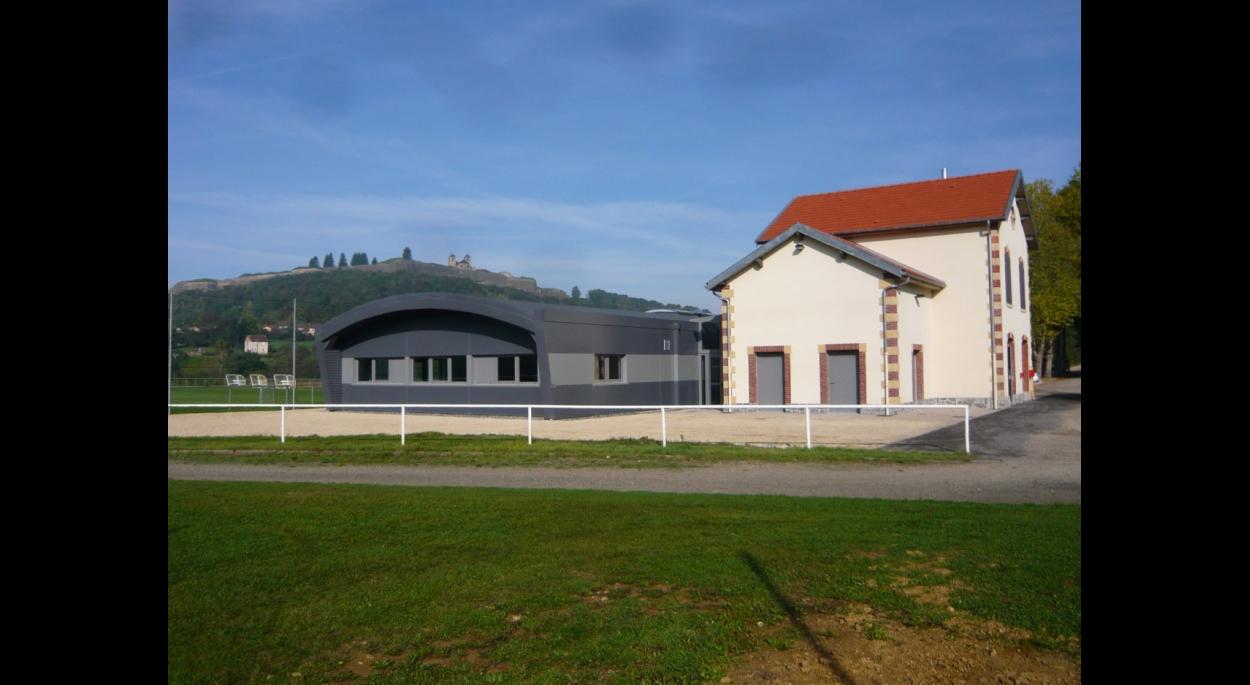 Salle de sports et loisirs Montmédy Benjamin Fedeli Architecte