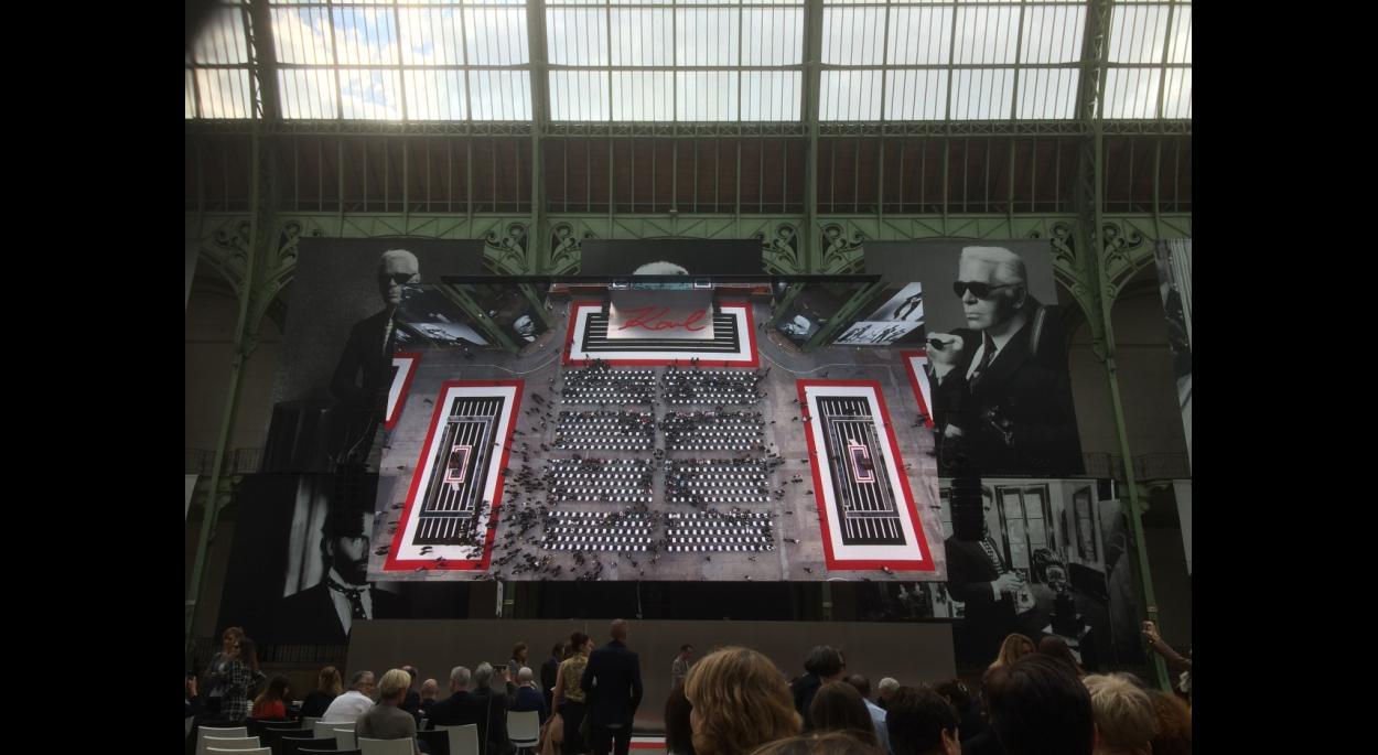 Hommage Karl Lagerfeld @ Grand Palais 190620