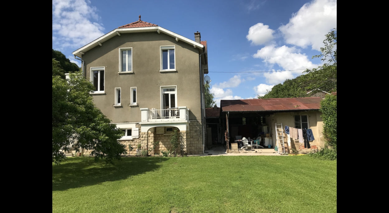 Extension habitation Montplonne Benjamin Fedeli Architecte