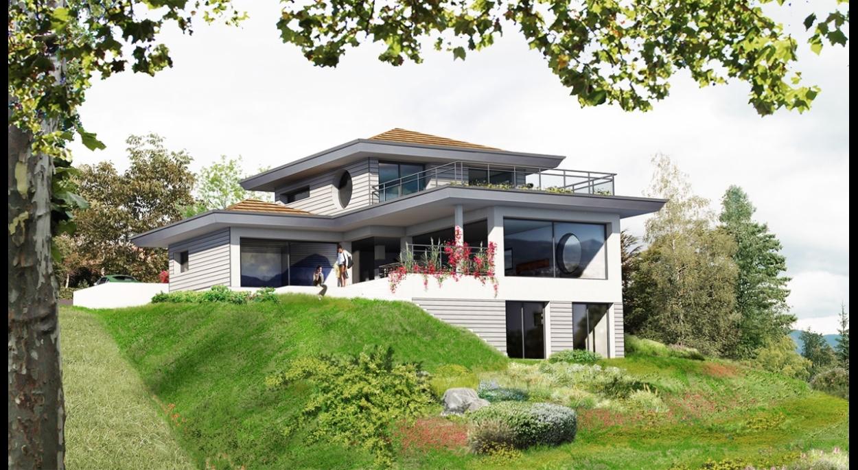 Villa bioclimatique à Argonay - Dossier PC