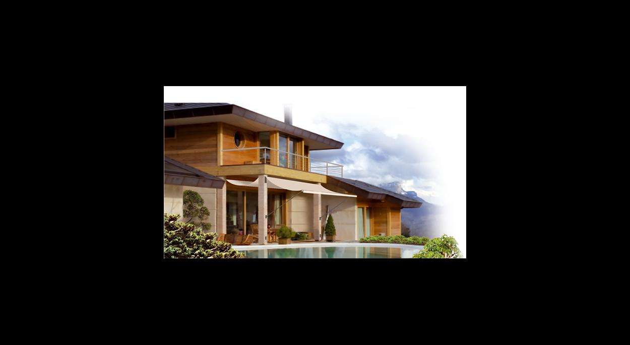 Villa bioclimatique Epagny - Vue Sud-Ouest