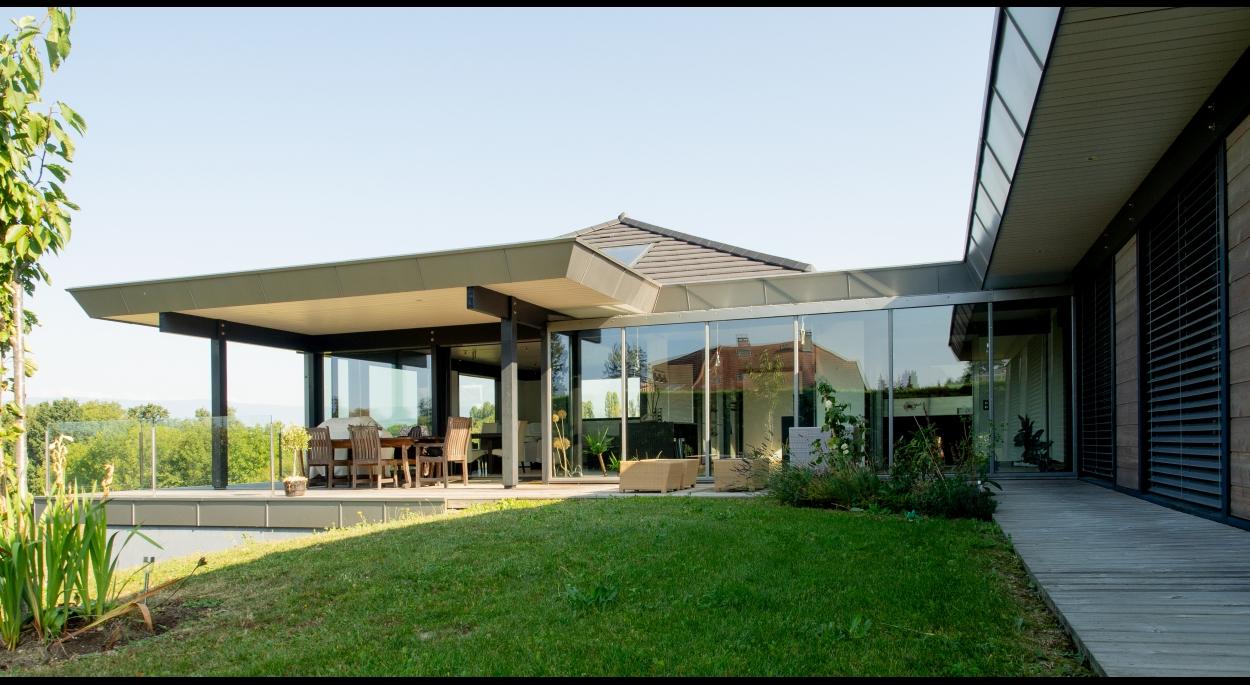Maison bioclimatique Messery-Terrasse Sud