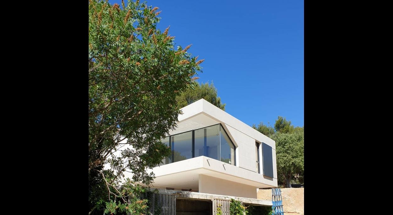 beton vitrage maison extension aubagne architecture Guillaume Pepin Architecte